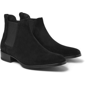 Tom Ford - Cuban-Heel Suede Chelsea Boots | MR PORTER