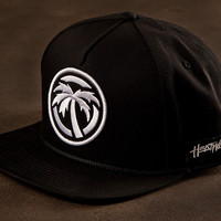 ICON SnapBack hat BLACKOUT