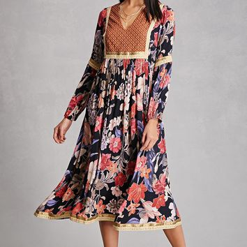 RD And Koko Floral Maxi Dress