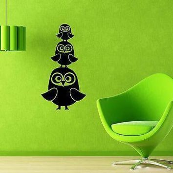 Wall Stickers Vinyl Decal Baby Owl Bird Great Decor Nursery Child Unique Gift (ig954)
