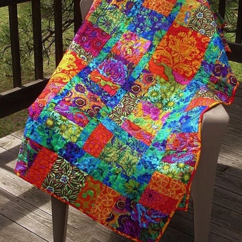 EYE CANDY !!!! -   A Happy Quilt made exclusively out of Kaffe Fassett Designs