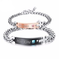 King and Queen Couples Bracelets