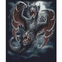 Winged Abomination Cross Stitch Kit
