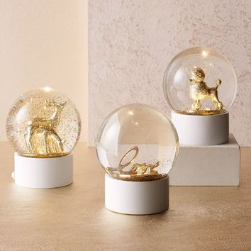 LED Light-Up Snow Globes - Small