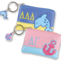 Sorority ID / Coin Purse - Sale | Sorority accessories and gifts from SomethingGreek.com