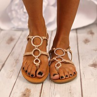 Put A Ring On It Sandals