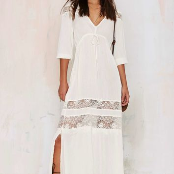 Wistful Thinking Lace Maxi Dress