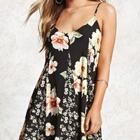 Floral Patchwork Cami Dress