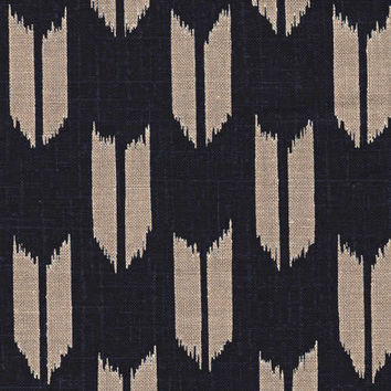 Arrow Feather Japanese Indigo Cotton Quilting Fabric KW-3610-13
