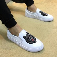 Gucci Man or Woman Fashion Edgy Casual Shoes