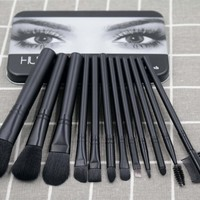 Make-up Brush 12-pcs Brush [11552139276]