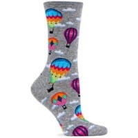Hot Sox Women's Hot Air Balloons Sock
