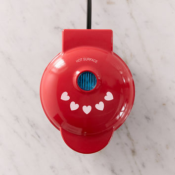 Heart-Shaped Mini Waffle Maker | Urban Outfitters