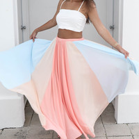 Folly Beach Maxi Skirt