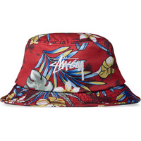 Stussy Red Paradise Bucket Hat