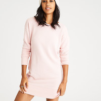 AEO Sweatshirt Dress, Blush