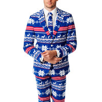 Preorder - The Ugly Christmas Sweater Suit - The Rudolph Suave - Delivery in Mid-December 2015