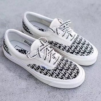 Fashion Online Vans & Fear Classic Canvas Leisure Shoes