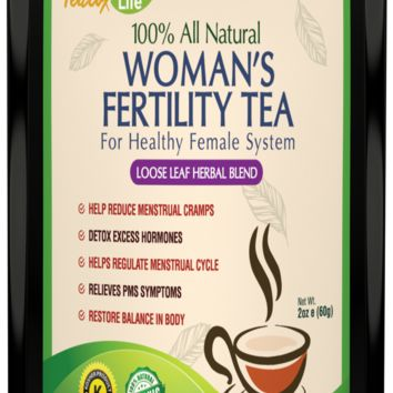 PMS Fertility Tea with Vitex