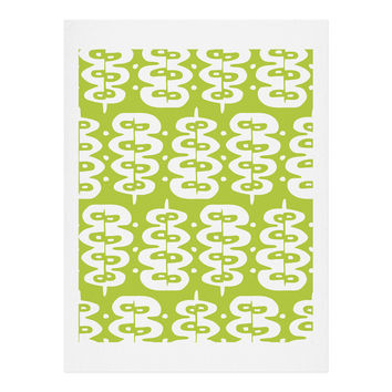 Heather Dutton Fern Frond Green Art Print