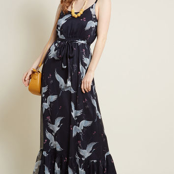 Peaceful Panache Maxi Dress