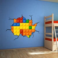 Wall Sticker - Lego Wall