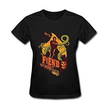 SHIRT THE MISFITS Women's The Misfits Horror Punk Band Poster T shirt
