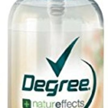 Degree Women Natureffects Body Mist, Orange Flower & Cranberry, 3-ounce Bottles (Pack of 6)