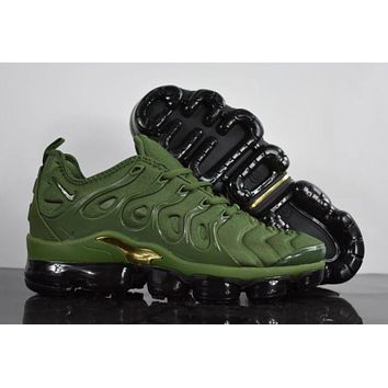 DCCK 2020 Nike Air Max Plus TN VM 'Amry Green' Vapormax Vapor Max Woman Fashion Running Sneakers Sport Shoes