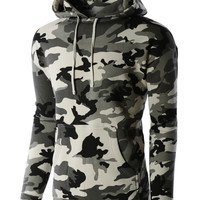 LE3NO PREMIUM Mens Heavyweight Boxy Fit Fleece Hoodie Sweatshirt