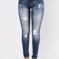 Heated Debate Jeans - Dark Blue