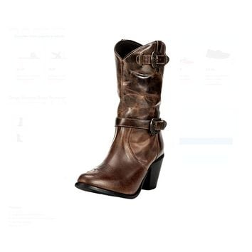 "Dingo Buckled Calf Boot ""DI648"""