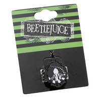 Beetlejuice Ornate Cameo Ring
