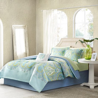 Celeste Complete Bed and Sheet Set