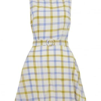 BRIGHT & BEAUTIFUL RUTH CHECKED DRESS