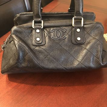 Women's Chanel Bag Black Vintage. 100% authentic. Pre-owned Great Condition. $8K