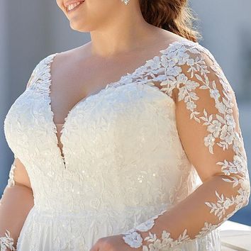 Plus Size Wedding & Bridal Dress