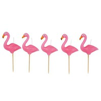 SUNNYLIFE - Flamingo Cake Candle Set