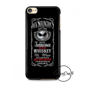 Jack Skellington Whiskey Daniels iPod Touch 6 Case