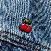 Pintrill Cherry Pin - Urban Outfitters