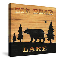 Big Bear Lake Canvas Wall Art