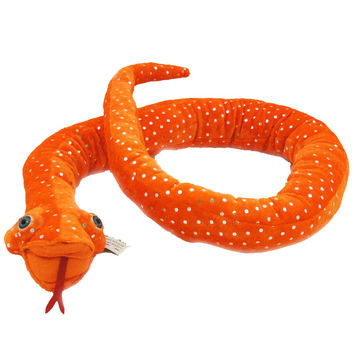 Halloween Python Orange Halloween Decor