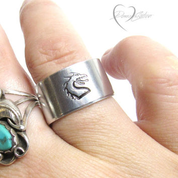 Dragon Ring - Handstamped Ring - Viking Ring - Game of Thrones Ring - Fantasy Ring - Dragon Jewelry - Handstamped Jewelry - Personalized