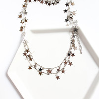 Crystal Avenue Star Necklace