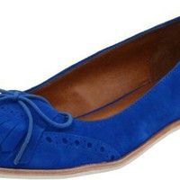 DV by Dolce Vita Women`s Delice Loafer,Bright Blue Suede,10 M US