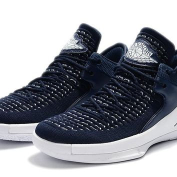 Best Deal Online Nike Air Jordan 32 Low Navy White Men Sneaker