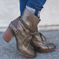 Gone Rogue Booties (Loden)