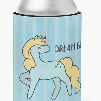 Nursery Dream Big Unicorn Can or Bottle Hugger BB7471CC