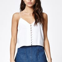 Kendall and Kylie Button Front Cami Tank Top at PacSun.com