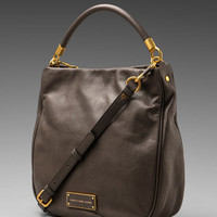 Marc by Marc Jacobs Too Hot to Handle Hobo in Faded Aluminum from REVOLVEclothing.com